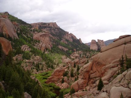 Red Rocks near Goose Creek