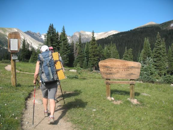 Indian Peaks Wilderness backpack