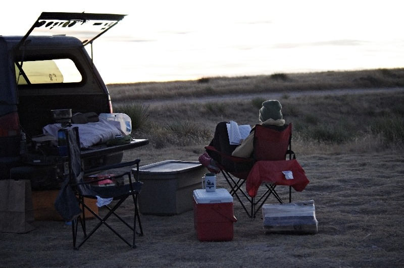 Camping in the Pawnee Grassland