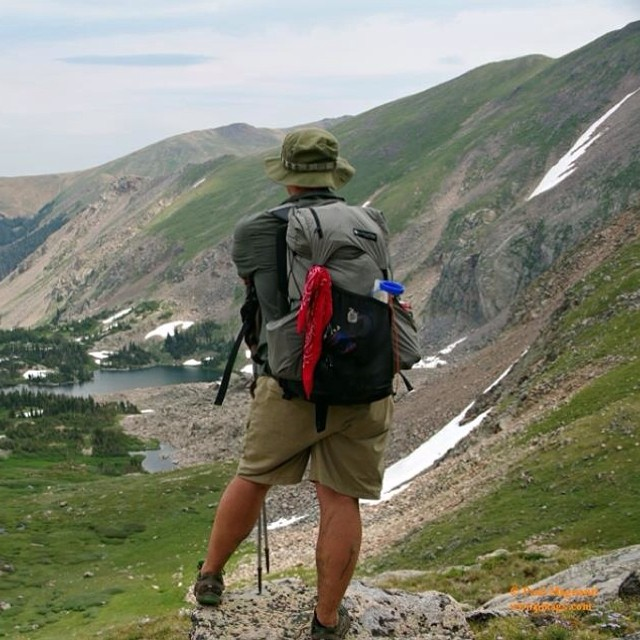 Off trail in #Colorado with a #GossamerGear Kumo #backpacking